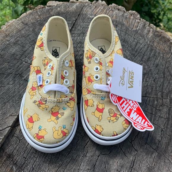 winnie the pooh vans size 9